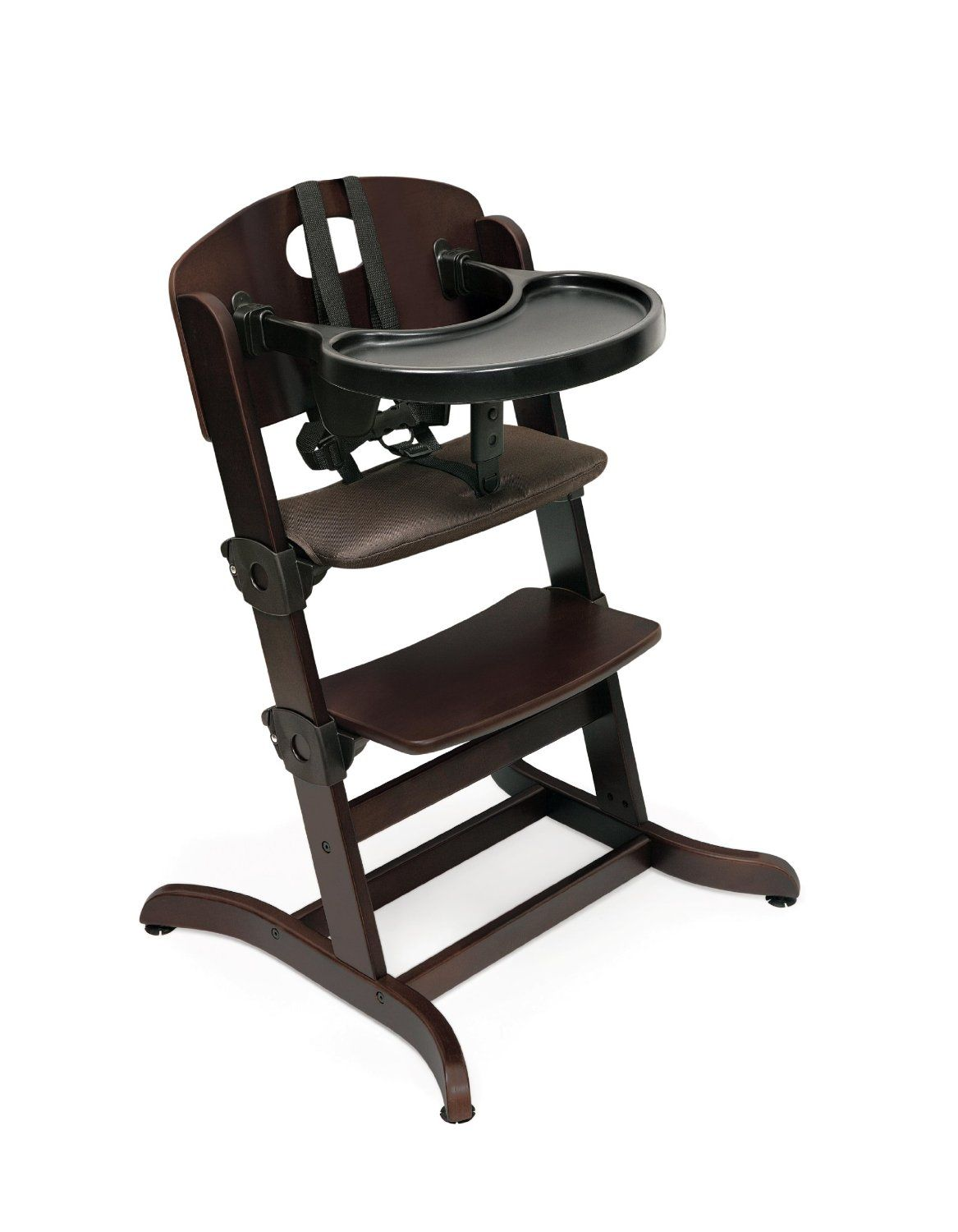Amazon Com Badger Basket Evolve Convertible Wood High Chair With