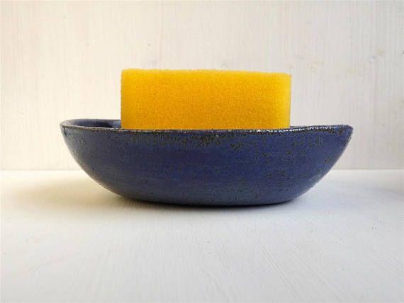 Sponge Holder Ceramic Sponge Dish New Home Gift Kitchen Sponge
