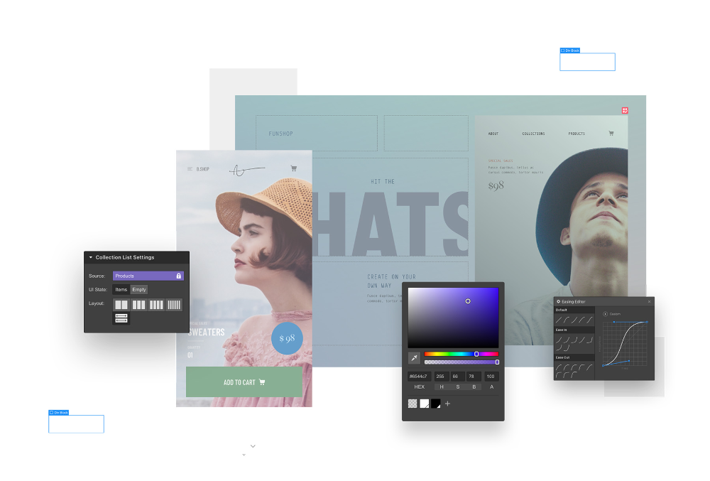 Responsive Web Design Tool Cms And Hosting Platform Webflow In 2020 With Images Web Design Tools Web Design Web Design Resources