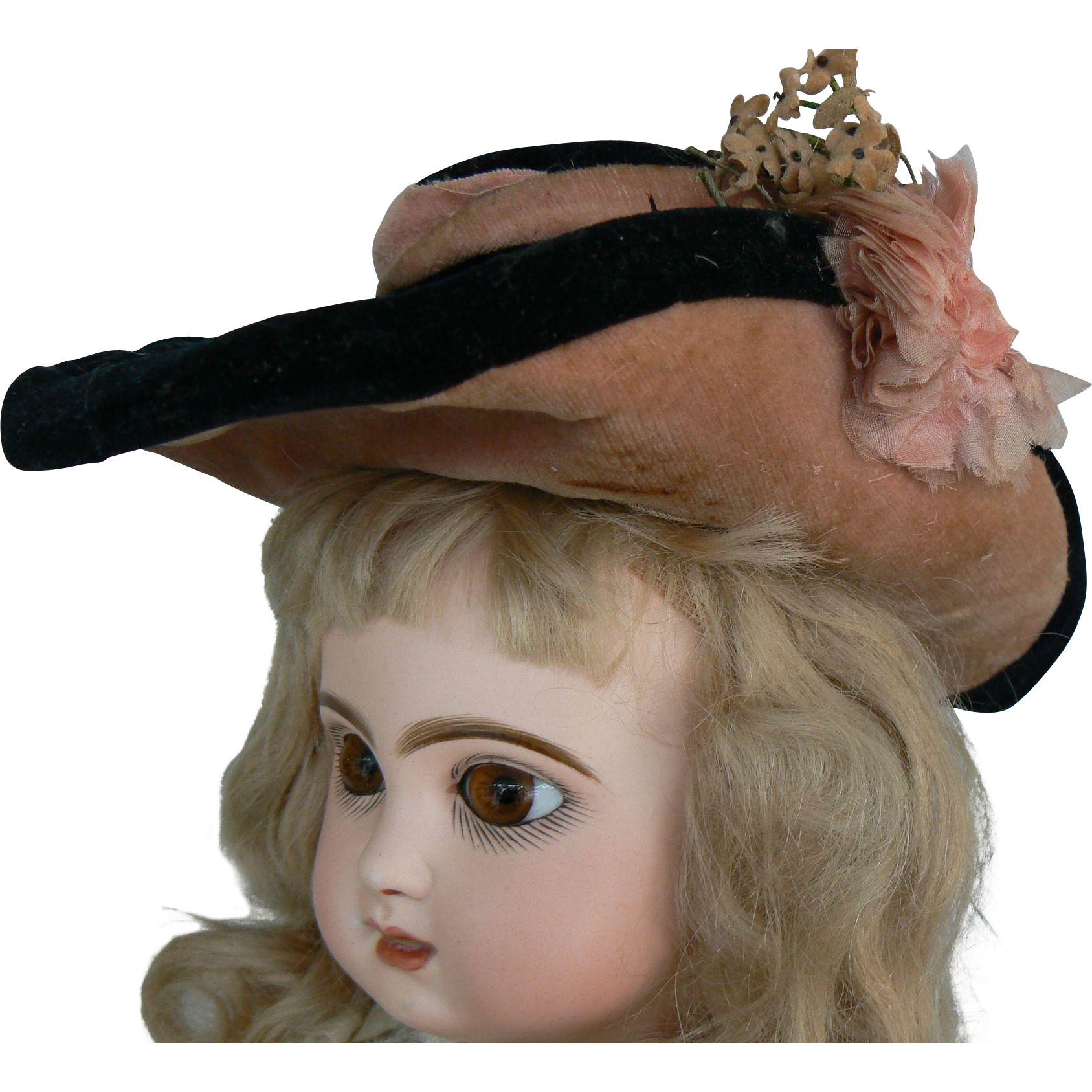 Old antique doll hat for a french or german doll antique dolls png  1687x1687 Old french 224fa12ce6f2