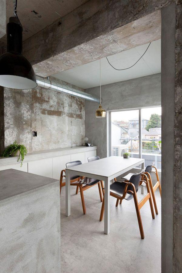 Indoors Outdoors Concrete Interiors Interior Home Decor