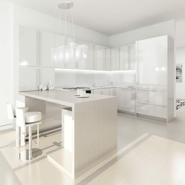 original diseño cocina diseno blanco | cocina | Pinterest | Cocina ...
