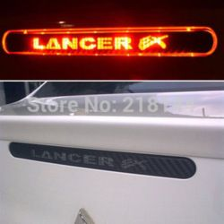 online shop new modified mitsubishi car styling sticker and decals reflective car modification carbon f mitsubishi cars mitsubishi lancer smart car accessories pinterest