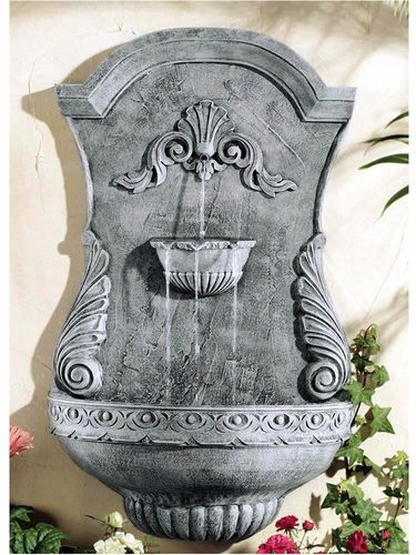 Outdoor Hanging Wall Fountain: Ladybug/CPI: Classic Shell