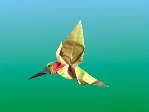 Origami Hummingbird Diagram Instructions Laser Burner Circuit Great Installation Of Images Gallery
