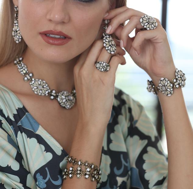 A jewelry set by KONPLOTT/Miranda Konstantinidou  Marrakech