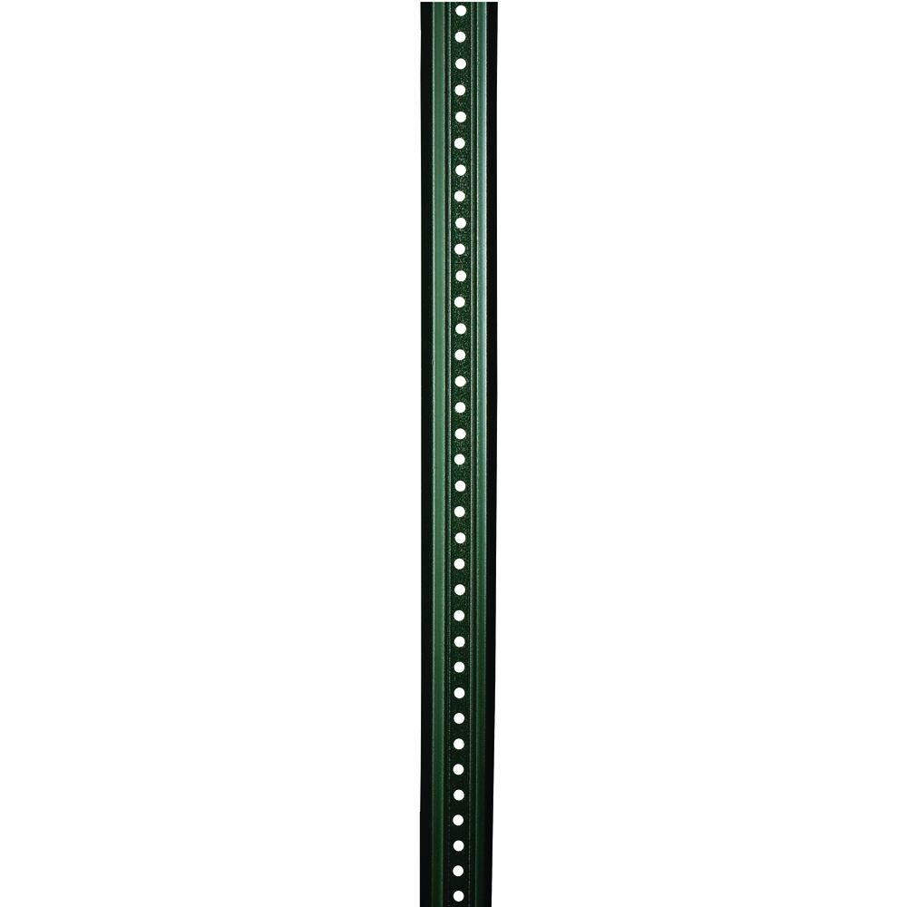 Brady 8 Ft Steel U Channel Sign Post 97204 The Home Depot Sign Post Porch Posts Camping Signs