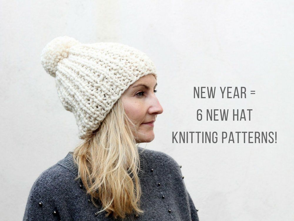 6922b360c1a Take a look at the 6 new hat knitting patterns that have been added for you