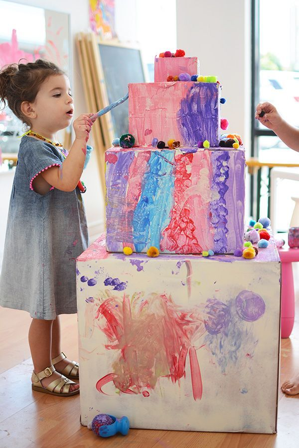 Karton Geburtstagstorte   - Toddler Approved Karton Geburtstagstorte   - Toddler Approved