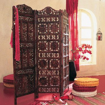 cloison ou objet d co comment utiliser le paravent paravent moucharabieh et la redoute. Black Bedroom Furniture Sets. Home Design Ideas