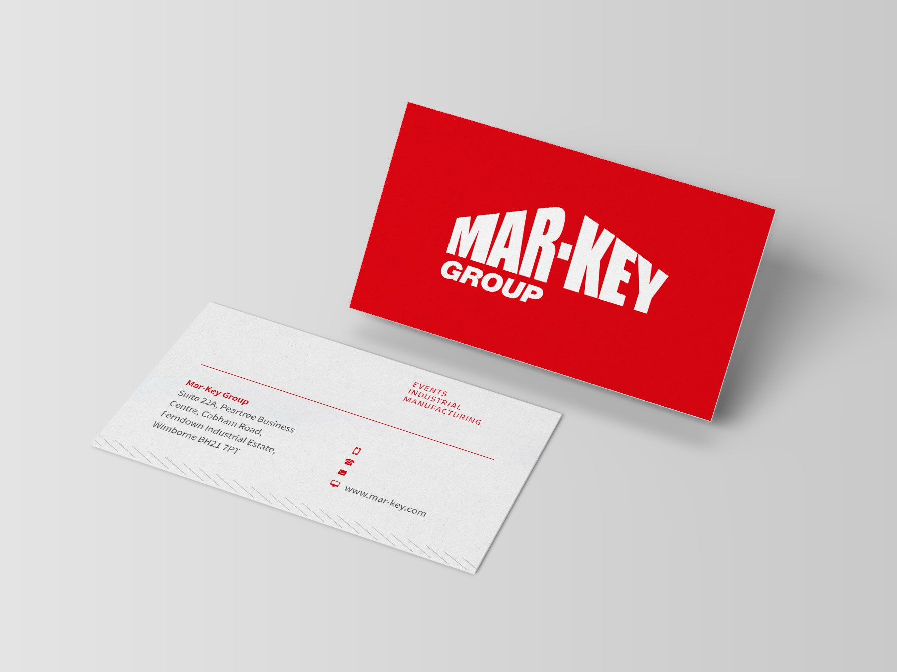 Mar-Key Group business cards designed by Planet
