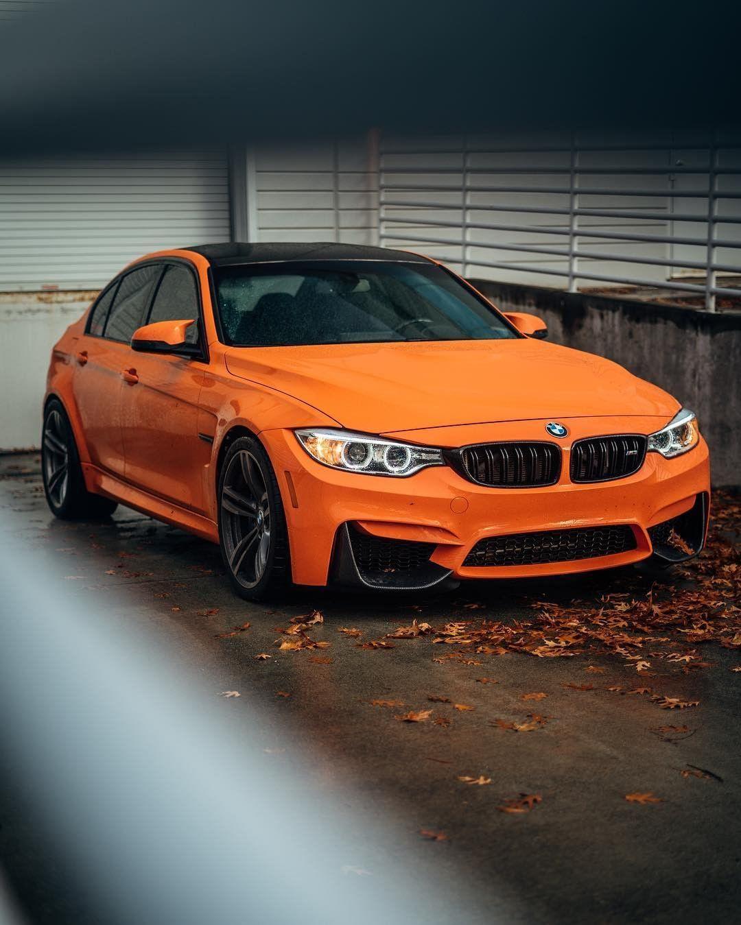 BMW F80 M3 In BMW Individual Fire Orange @zwalkerrr