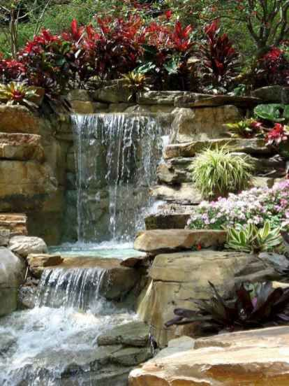 70 Beautiful Backyard Ponds and Water Garden Landscaping Ideas