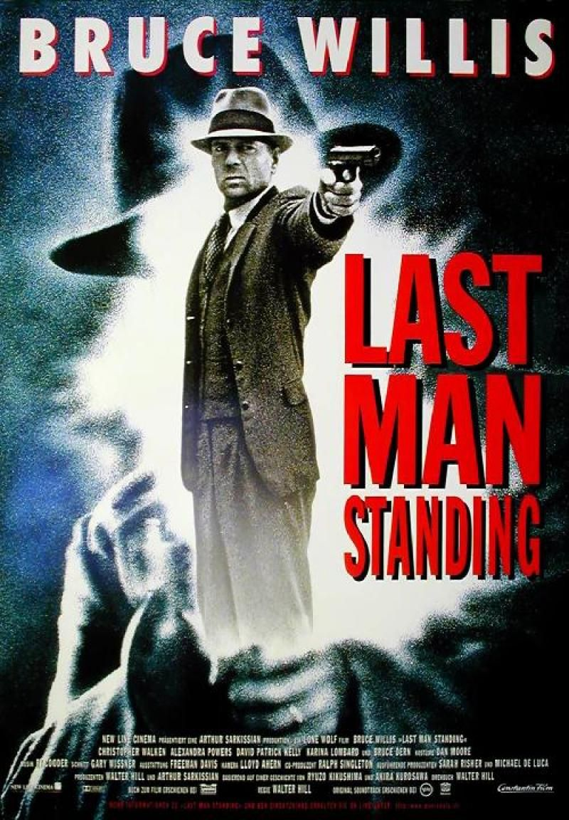 last man standing 1996 walter hill movie posters