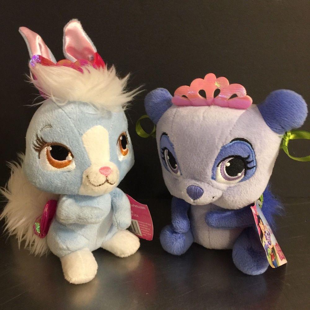 Palace Pets Disney Princess Mulan Snow White Set 2 Panda Bunny