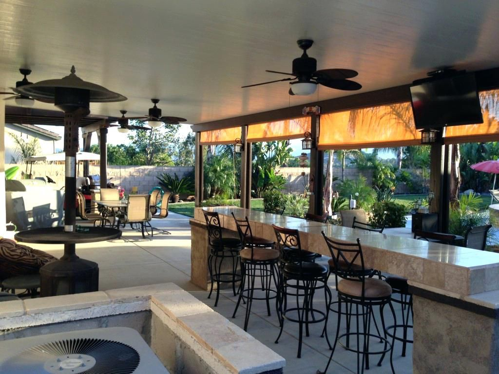 Image result for large patio covers phoenix az | Aluminum ... on Patio Cover Ideas For Winter id=92714