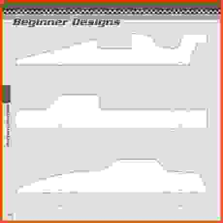 Pinewood Derby Car Templates Pdf PostDerbyJpg    Pinewood