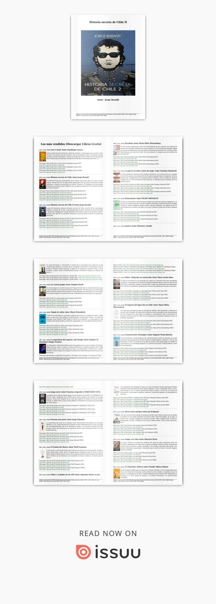 Descargar libros gratis historia secreta de chile ii (pdf epub mobi ...