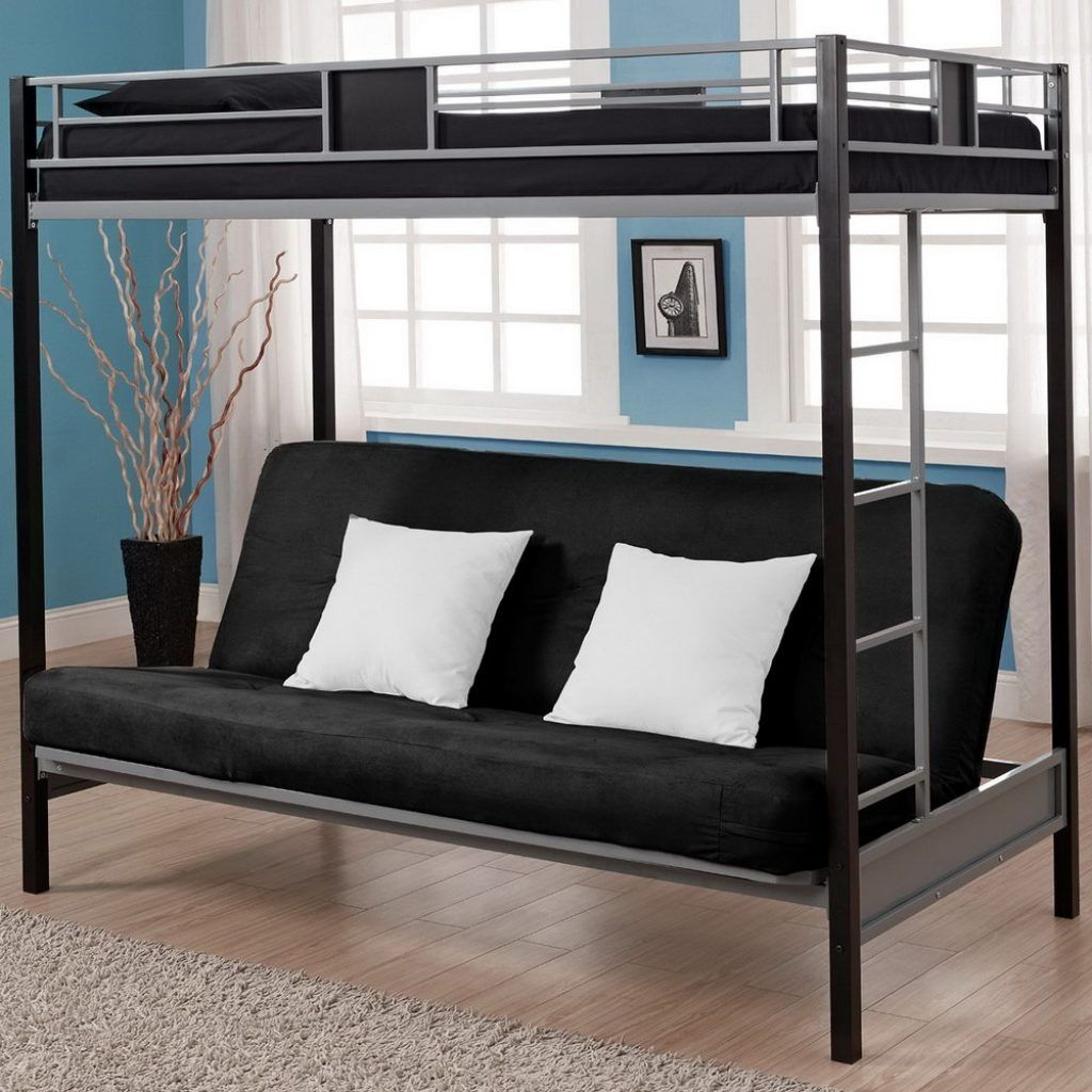 Double Loft Bed With Sofa Underneath Metal Bunk Beds Futon Bunk Bed Modern Bunk Beds