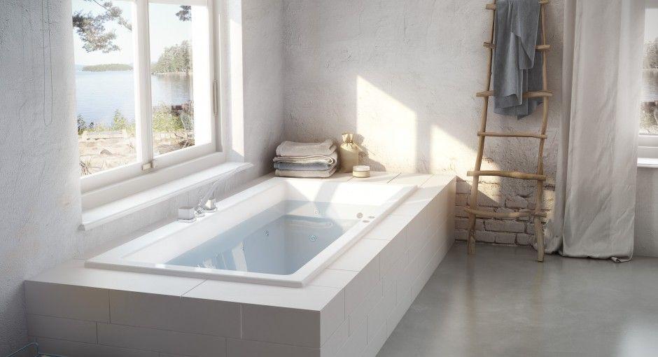 Dit wellness ligbad van badkamermerk Cleopatra is perfect voor ...