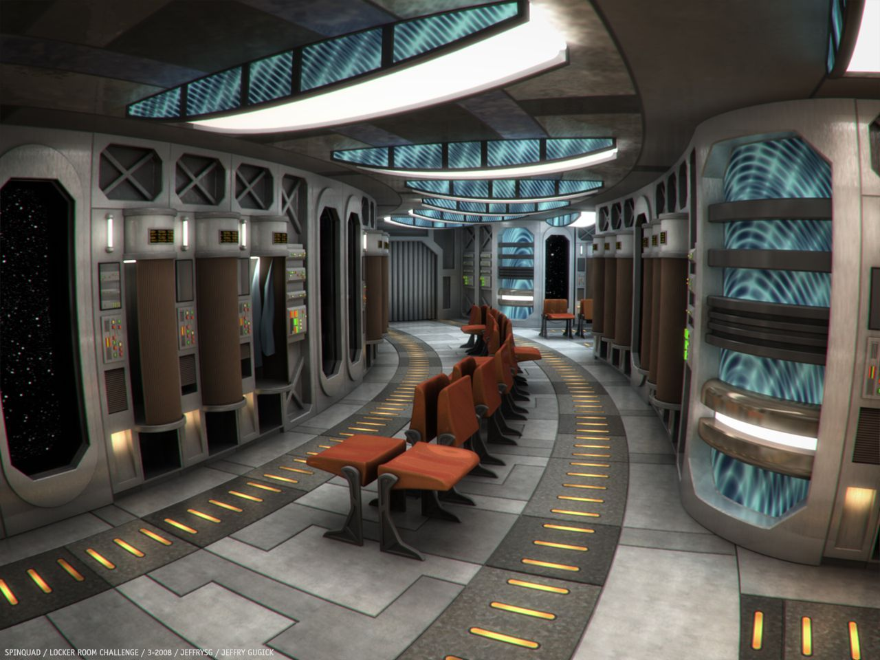 Pin by roger marshall on clean sci fi environments sci for Sci fi decor