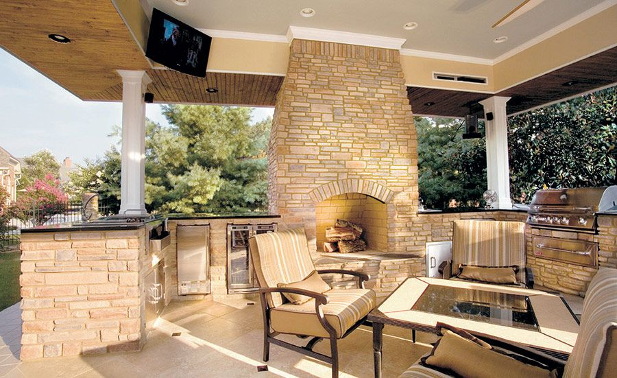 Fachaleta Terraza Idea Outdoor Furniture Sets Patio Outdoor Kitchen
