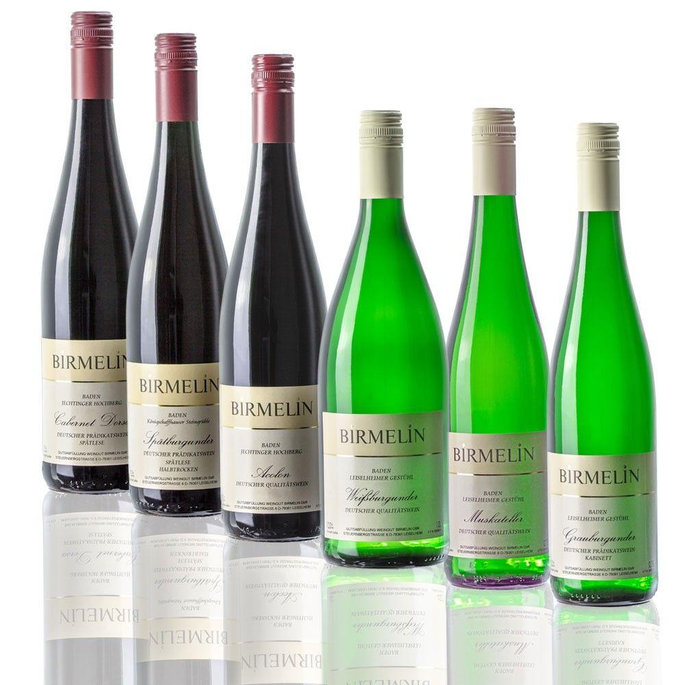 Kennenlernpaket weiß / rot halbtrocken bis lieblich   Weingut Birmelin - Kaiserstuhl