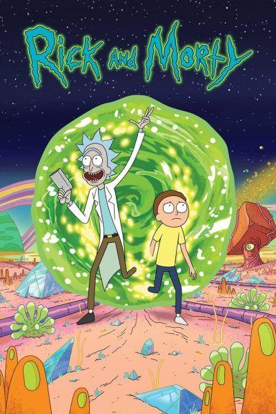 Poster Rick And Morty Rick And Morty Season Rick And Morty Poster Watch Rick And Morty