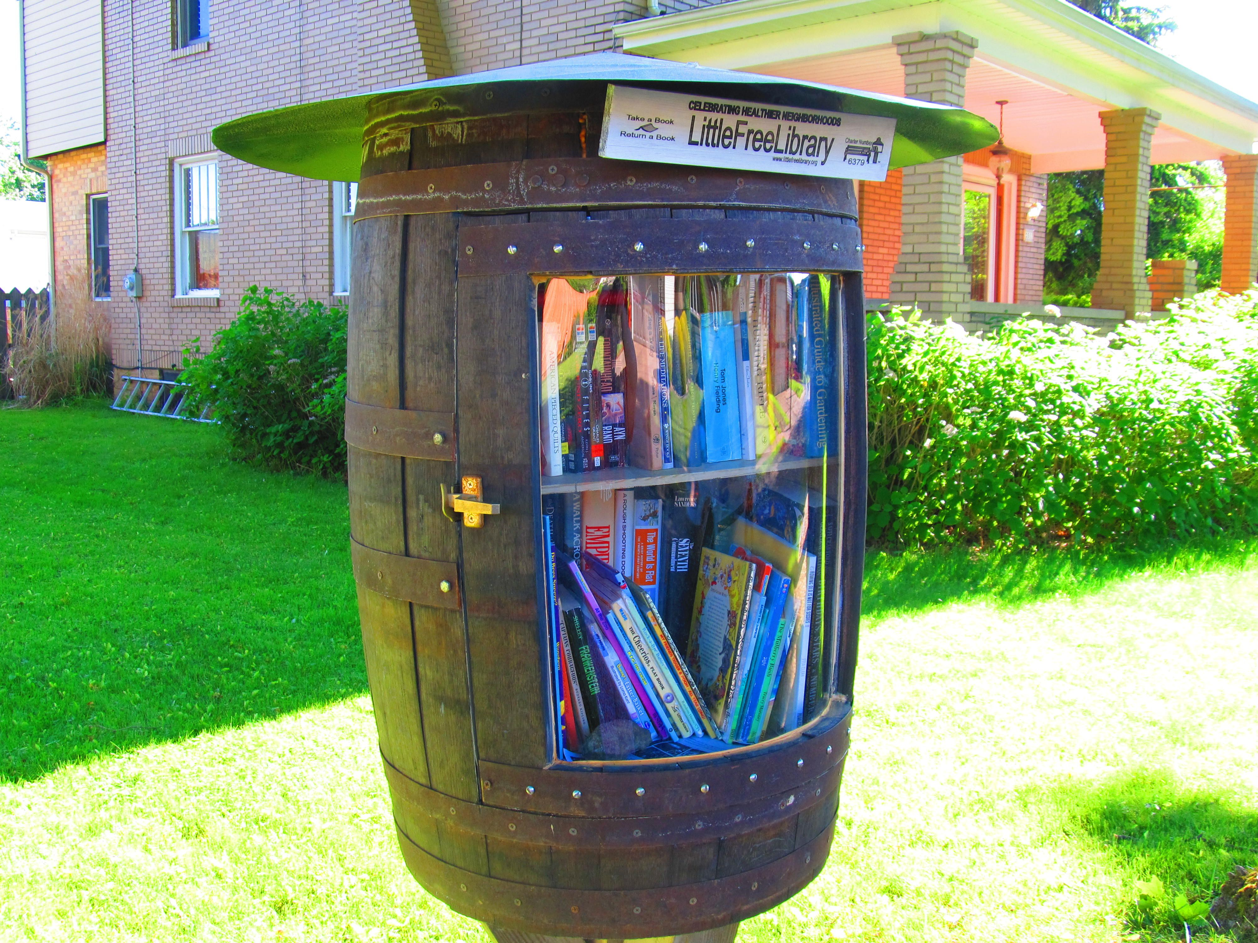 Joyce Graham. Clearfield, PN. This Little Free Library has been very well received in the neighborhood. I have been telling everybody that I run into about it! Yesterday at a yard sale I mentioned my LFL to a woman and she gave me all of the books that she had out for sale. She said that she would gladly support anybody that is promoting literacy and community.  This has been a wonderful experience. I hope to make this a success. Thank you so much for the inspiration and for the support!