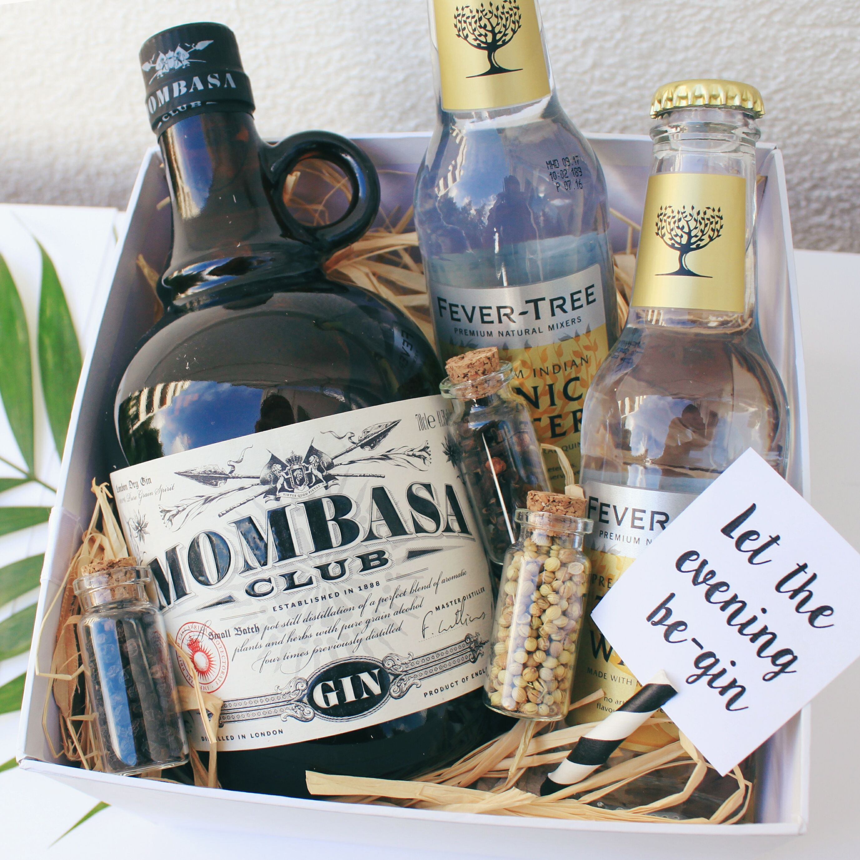 Gift Idea To Friends Hipsters Birthday Parties A Gin And Tonic Set Also Easy Create Yourself