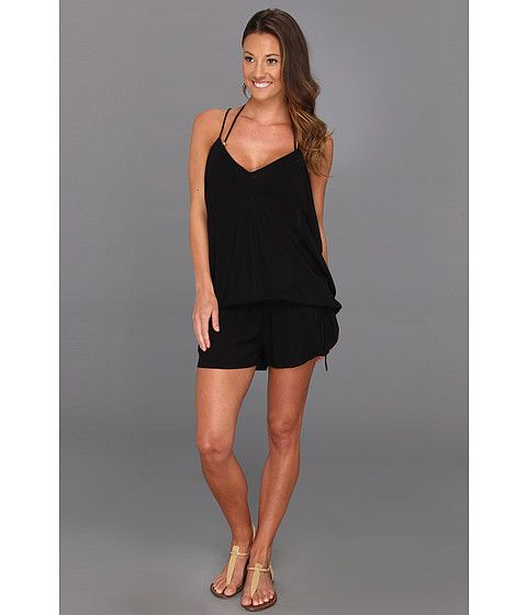 MIKOH SWIMWEAR Jaws Romper Cover Up