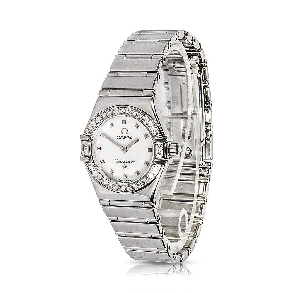 refurbished preowned omega ladies watch in womenu0027s