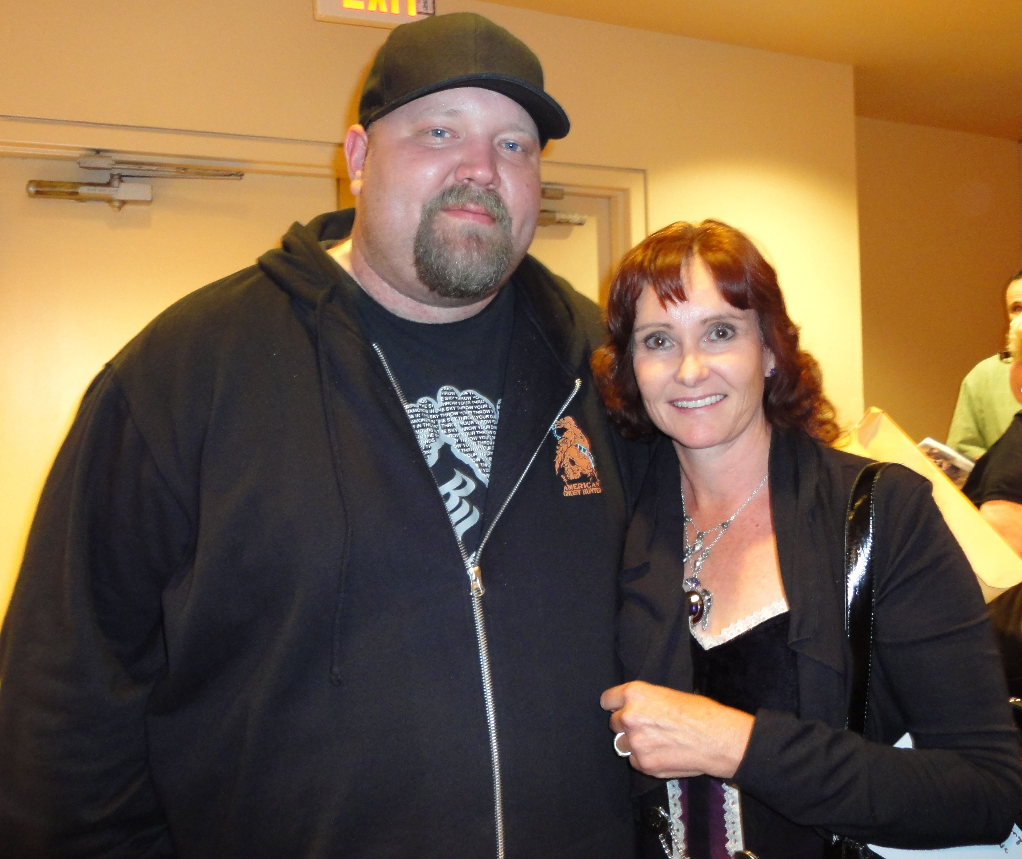 Me with Chad Calek - Paranormal State & American Ghost