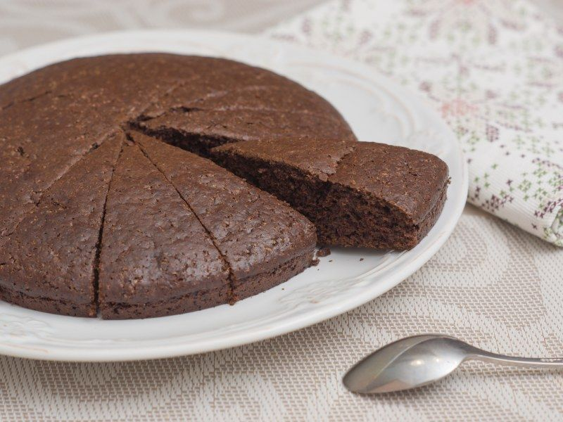 Gâteau ou fondant au chocolat sans œuf   Recette   Fondant ...