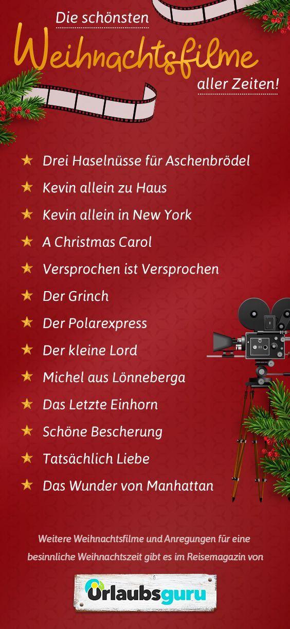 Die schönsten Weihnachtsfilme für die Weihnachtszeit | Urlaubsguru