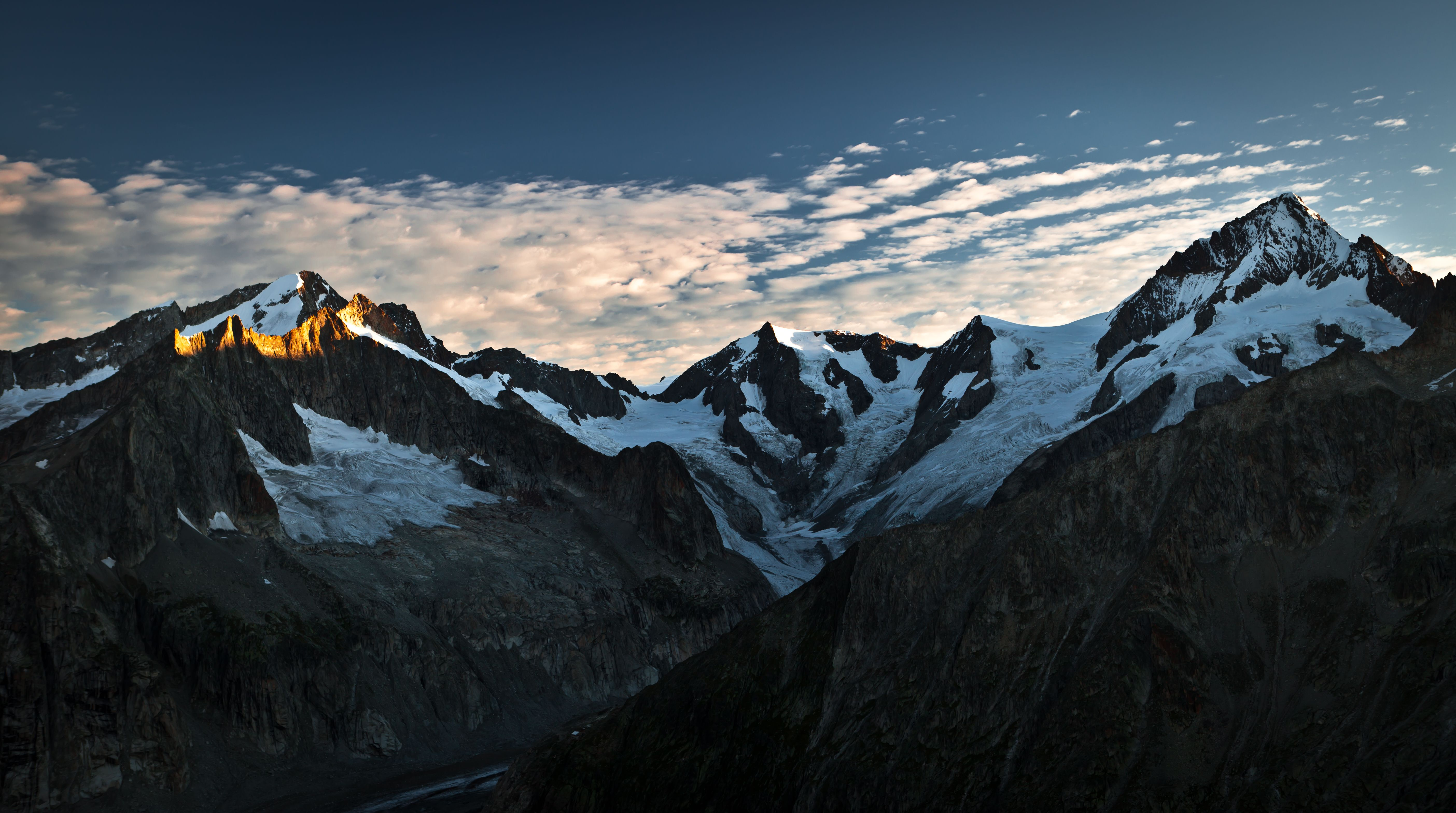 Aletschhorn @ Dawn (Valais / Wallis)