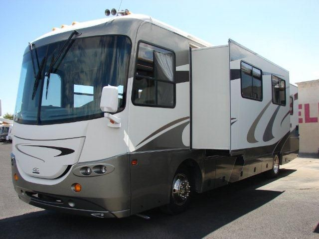 2005 Coachmen Cross Country 354mbs This Single Slide Rv Is Powered With A Cummins 300hp Diesel Engine On A Freig 300hp Aluminum Trailer Recreational Vehicles