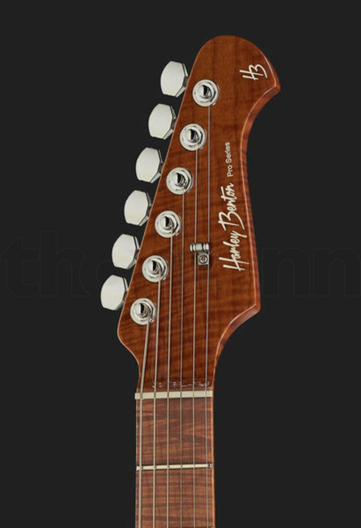 Harley Benton Fusion Ii Hsh Roasted Fbb Benton Guitar Harley