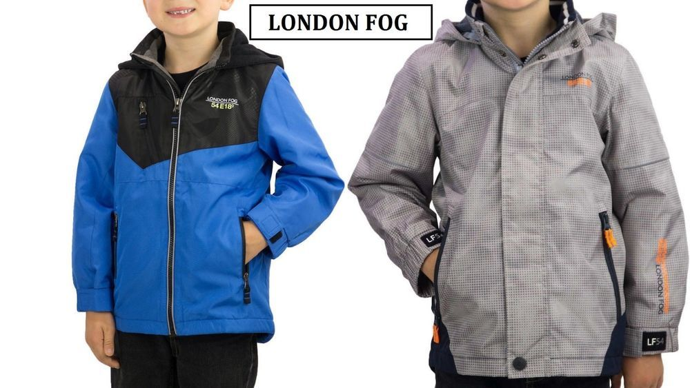 London Fog Boys Poly Fleece Lined Windbreaker