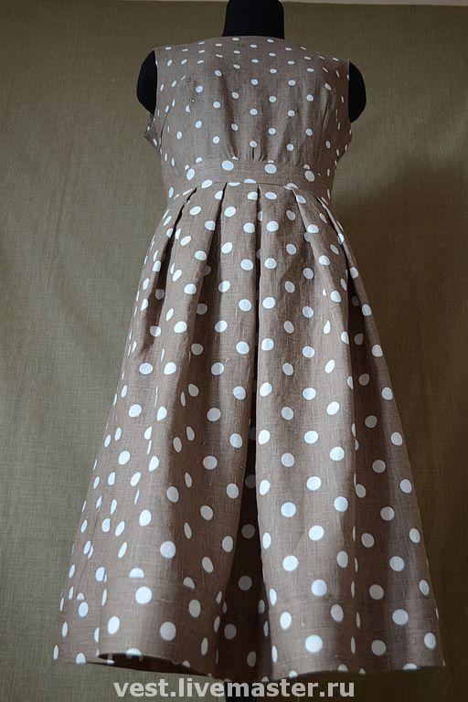 fb6a0c52087e134 Купить Платье из льна