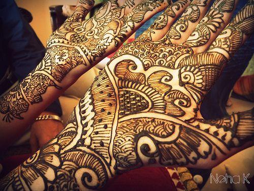 Gorgeous Bridal Mehndi Designs : Gorgeous bridal henna. #wedding #bride the marrieds