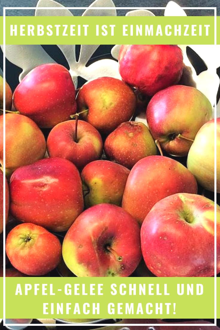 Herbstzeit ist Einmachzeit: Apfel-Gelee schnell und einfach selber gemacht