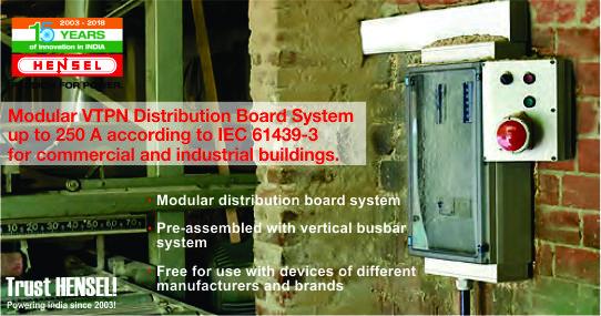Modular VTPN DistributionBoardSystem up to 250 A