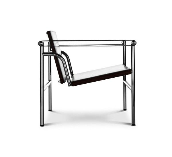 The Famous Armchair Lc1 By Le Corbusier For Cassina With Metal Structure Was Designed In 1928 It Is Also Known As Fauteuil A Dossier Basc Furniture Charl