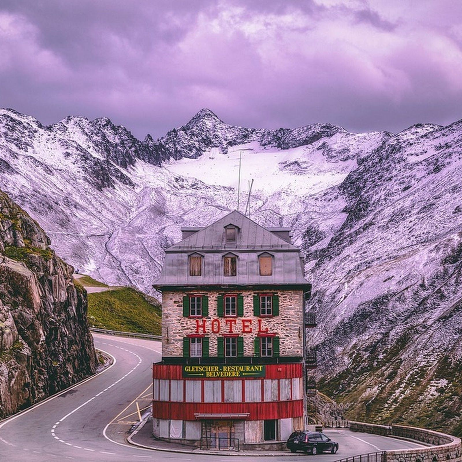 Hotel Belvédère: The Iconic Swiss Hotel On The Edge Of The Rhone Glacier