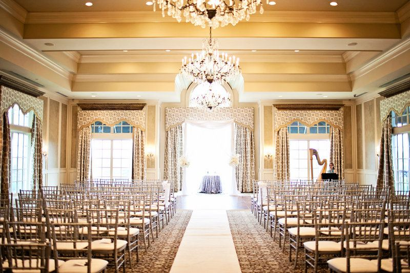 Adam Brittany Photo By Cwf Photography Windsor Ballroom Ceremony At St Ives Country Club