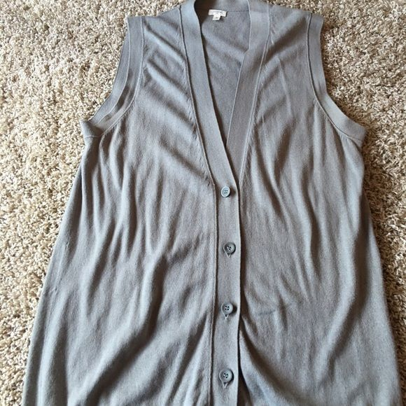 J. Crew vest Brand new vest from J. Crew J. Crew Sweaters V-Necks