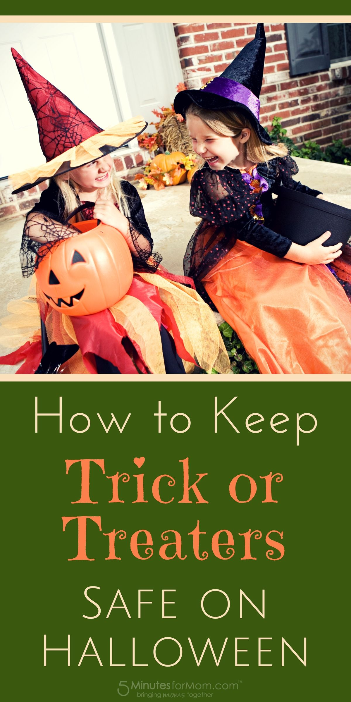 How to Keep Trick or Treaters Safe on Halloween