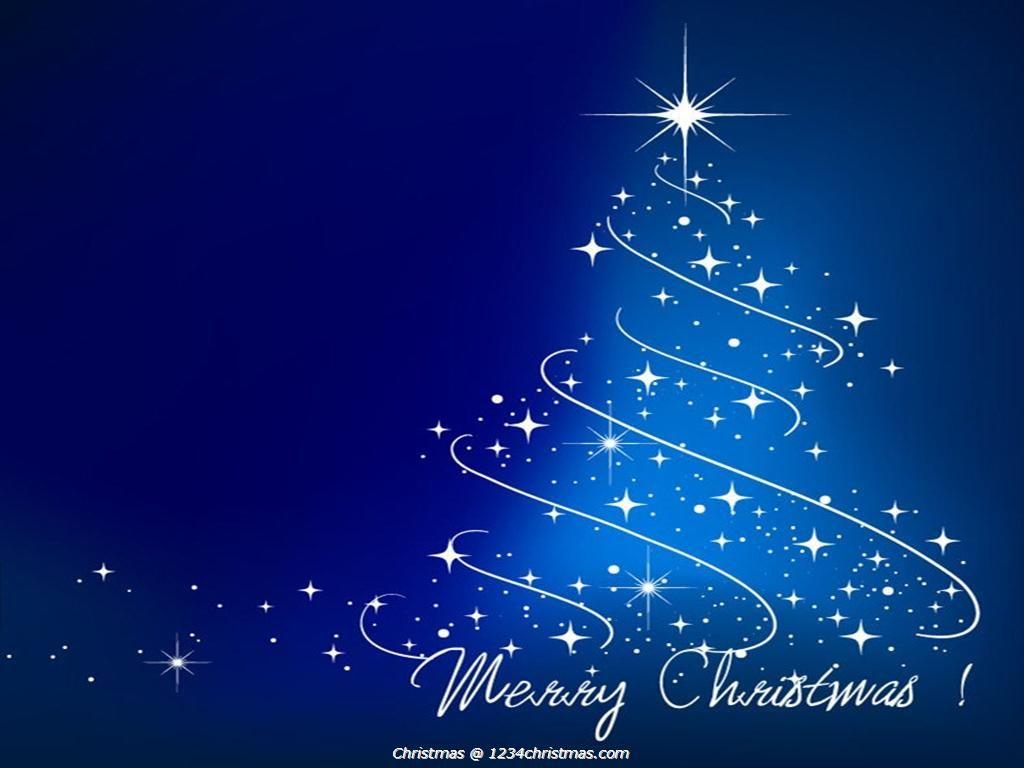 Blue Christmas Tree HD Wallpaper Christmas Tree