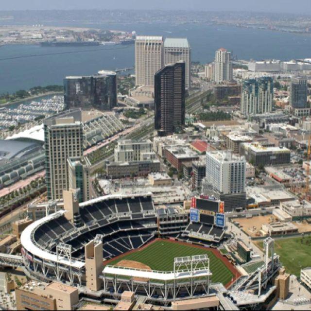 Petco Park San Diego Ca San Diego Padres Downtown San Diego Places In California San Diego